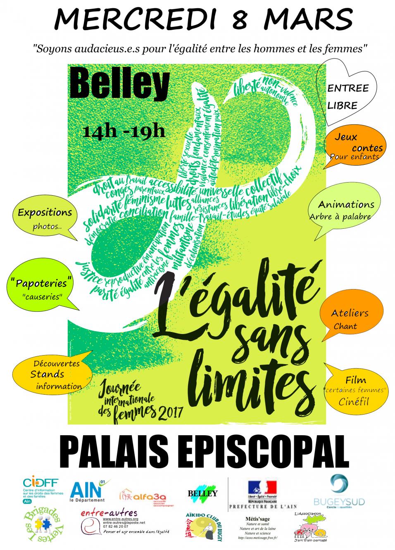 Affiche Pour La Journée De La Femme 8 mars 2017 journée internationale du droit des femmes à belley
